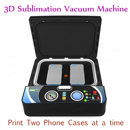 Wholesale Printer Press - ST-2030 Smart 3D Vacuum Heat Press Machine Phone Cases Sublimation Heat Transfer Machine For Two Phone Case 400W 110V 220V