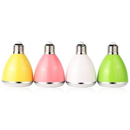Wholesale Speaker Socket - BL08A Smart Bluetooth Discolor LED Bulb Speaker E27 B22 Socket Mobile Phone Control