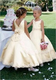 Canada Cream Flower Girl Dresses Supply, Cream Flower Girl Dresses ...