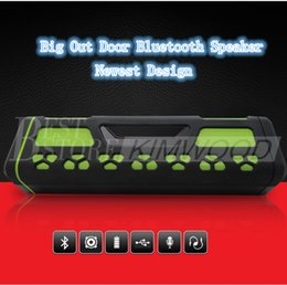 Wholesale Portable Speaker Design - Bluetooth Speaker Big Out Door New Design Wireless Speaker TF-Card Best Quality Best Body Style Nice Music Play