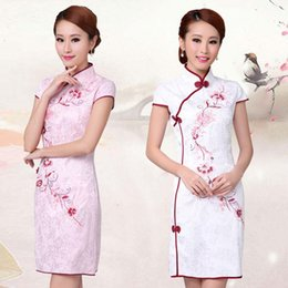 Wholesale Dress Improvement - 2015 Improvement of traditional Chinese dress,sweet Tang suit