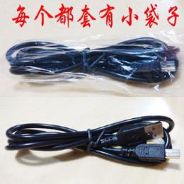 Wholesale Mini 5pin Usb - Mini 5pin USB cables 100cm 1m 3ft Mini 5p Data Charging Cable OD4.0 Pure Copper Core USB 2.0 A to Mini B 5pin V3 long head for mp3 Camera