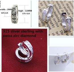 Argentina Conjuntos de joyería unisex de moda 925 anillos de plata con forma de mujer con aretes de diamante de circonio suizo Suministro
