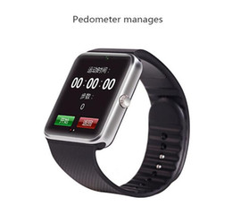 Wholesale Watch Mobile Phone Free Shipping - 2015 Hot selling Aiwatch A8+ Smart watches SIM Intelligent mobile phone watch free shipping via EMS