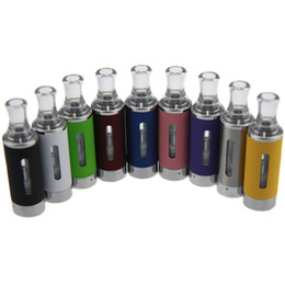 Wholesale Cheapest Wholesale Batteries - Cheapest MT3 Atomizer E cigarette rebuildable bottom coil Clearomizer tank for EGO battery Multi-color Atomizer Free shipping