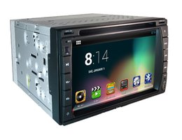 Wholesale Black French Country - 6.2 inch android system Two DIN quad core car DVD player with GPS 66 Country map optional