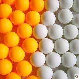 Wholesale Table Tennis Training Balls - Wholesale- 6pcs per set selling Training ball competition ball table tennis ball ping-pong random color