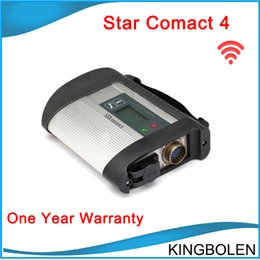 Wholesale Mb Star Connect - New MB Star Compact 4 full set with wifi support more than 20 languages SD Connect C4 For Mercedes Benz Diagnostic DHL Free Shipping