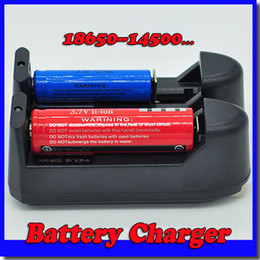 cargadores hoverboard Rebajas Caliente 100 UNIDS 3.7 V Cargador de Batería para 18650/14500/17500/18500/26650/10440/16340 Y 17670 Batería envío gratis