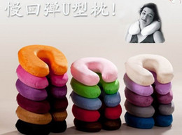 Wholesale Neck Protecting Pillow - Automotive supplies, travel to protect neck pillow memory foam decompression U-shaped health pillows