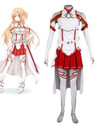 Wholesale Asuna Yuuki Cosplay Sword - Sword Art Online Asuna Cosplay Costume Asuna Yuuki Cosplay