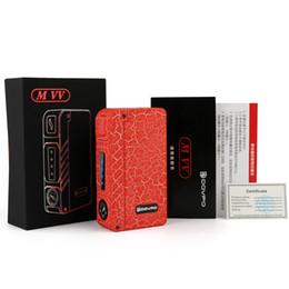Cigarrillo electronico dovpo online-100% Original DOVPO MVV Nueva Zinc Electronic Electronic Cigarette Mod E-Cigs Batería DOVPO MVV VV Box Mods con LED vs aspire NX75