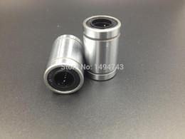 formatador hp Desconto 11 pçs / lote Frete grátis LM8UU 8mm Rolamento De Esferas Linear Bucha Bucha cnc peças de impressora 3D