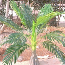 5 pcs Grand 86 CM Latex Artificielle Phoenix Noix De Coco Palm Plant Arbre De Mariage Accueil Maison Étage Extérieur Patio Sago Décor Feuillage Vert FL1715 ? partir de fabricateur