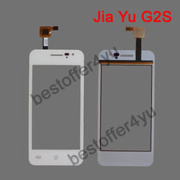 Wholesale G2s White - Wholesale-white original JY G2S jiayu G2S Touch Screen Digitizer Replacement For JIAYU G2S Touch Pane mobile phones + TRACKING