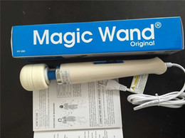 Wholesale Powerful Wand - Hitachi Magic Wand Massager,AV Powerful Vibrators,Magic Wands,Full Body Personal Massager HV-260 HV260 box pack 110-250V DHL
