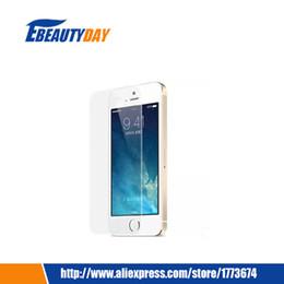 Wholesale I Phone 4s Screens - Wholesale-Premium Front Tempered Glass Film on Screen Protector Templado For Apple iphone4 iphone4S iphone 4 4S i Phone Pelicula de vidro