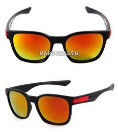 Wholesale Red Glass Rocks - Classic Popular Cycling Rock Trend Retro Outdoor Sport Shine Mirror Tour Leisure Eyewear Women Men Beach Sun Glasses Brand Goggle Glasses