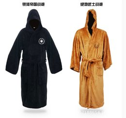 Wholesale Daily Dress - free shipping Jedi pajamas bathrobe Nightgown dress the Milky Way Empire Home Furnishing daily clothing size M.L 2 colors