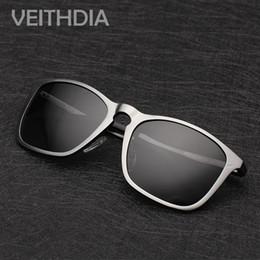 2019 поляризованные солнцезащитные очки Wholesale-Men Aluminum Polarized Polarised Lens Al-Mg Daily Square Sun Glasses Driving Outdoor Sunglasses Driver Eyewear oculos дешево поляризованные солнцезащитные очки