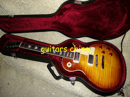 Wholesale One Piece Neck Vos - NEW 2015 Custom shop 1959 vos electric guitar One Piece Neck with Hardcase Free Shipping