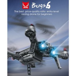 Wholesale Rc Brushless Motors - MJX Bugs 6 Professional Racing RC Drone with Camera HD 720P 5.8G FPV and VR Glass Live Video Quadcopter RTF Brushless Motor