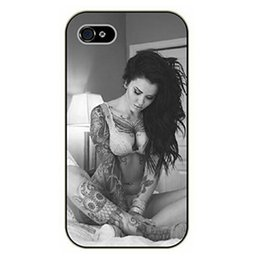 Wholesale Galaxy S4 Mini Owl - Hot Sexy Lady Owl Tattoo Girl case for iPhone 4s 5s 5c 6 6s Plus ipod touch 4 5 6 Samsung Galaxy s2 s3 s4 s5 mini s6 edge plus Note 2 3 4 5