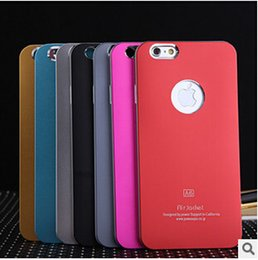 "Wholesale Hard Shell Jacket - Popular A6 A5 Air Jacket Aluminium Metal Metallic + Plastic Hard Case Cover Shell For iPhone 6 Plus 5.5"" 4.7"" For iPhone 5 5S iPhone 4 4S"