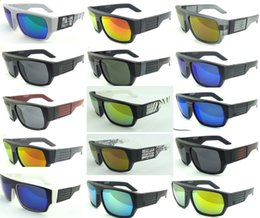 Wholesale Drop Sunglasses - New 2015 sunglasses KEN BLOCK HELM brand Cycling Sports Outdoor men women sunglasses Reflective Lenses 15 colors 10PCS LOT Drop shipping