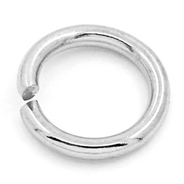 "Wholesale Silver Jump Rings 8mm - Free Shipping 2014 NEW 500PCs Stainless Steel Jump Rings Findings Silver Tone 8mm(3 8"")Dia. (Over $100 Free Express)"