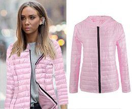 Wholesale Women Winter Coats Uk - Wholesale- Winter Warm Down Parka Jacket Coats Women Coat UK Fashion Women Casual New Hooded