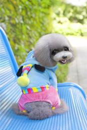Manteau de velours corail chien A25 pour 4 jambes - partie ours forme conception vêtements pour animaux de compagnie ? partir de fabricateur