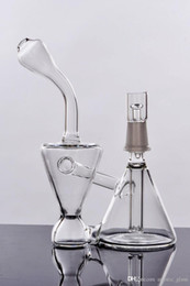 Wholesale Real Big - New big motherdhip torus sturdy glass bong hot sell real image glass water pipes fab egg hand pipes thickness glass work water bong