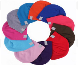 Wholesale Autumn Accessories - Hot Unisex New Born Baby Boy Girl Kawaii Cute Soft Cotton Beanie Hat Soft Toddler Infant Caps Baby Accessories free shipping