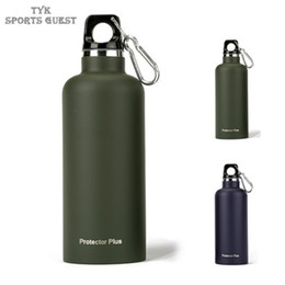 Wholesale Green Flasks - Good ss Steel Vacuum Water Bottle in Outdoor Hiking Sports Insulated Thermos Flask Warm Cup Mug 500 ML Quality Stain
