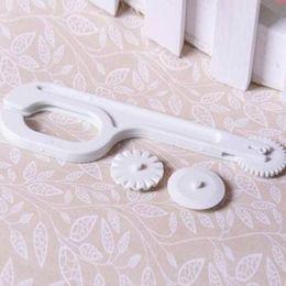 Wholesale Wheel Tool Fondant - Useful DIY Fondant Cutter Embosser Roller Sugarcraft Cake Decor Wheel Tool Set