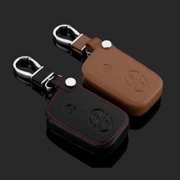 Wholesale Lexus Leather Key - New Leather Car Styling Key Cover With Buckle For Lexus GX460 ES250 ES350 CT200h ES300h RX270 LXGS IS250 Free Shipping