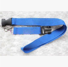 Wholesale Ids Support - 100pcs fashion Neck Strap Lanyard For Keychain Badge ID Mobile Cell Phone Holder Support Customize Logo DHL Free Shipping