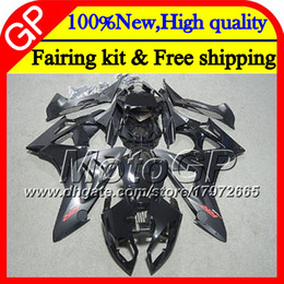 Wholesale Bmw Rr - Injection For BMW S1000R S1000RR 09 10 11 12 13 14 10GP7 Matte black S 1000 RR S1000 RR 2009 2010 2011 2012 2013 2014 13 Motorcycle Fairing