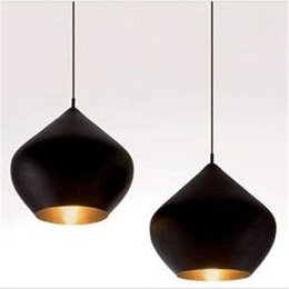 Wholesale Instrument Lead - Tom Dixon Beat Light Tom Dixon Pendent Light Pendent Lamp Instrument Lamp Droplight Contemporary Study Sitting Room Dining-room Droplight