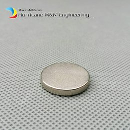 Wholesale Neodymium Permanent Strong Magnets - 1 pack N42 NdFeB Magnet Disc Diameter 20x3 mm about 0.79'' Strong Neodymium Magnets Axially Magnetized Rare Earth Permanent Magnets
