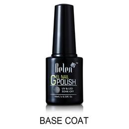 Wholesale Uv Decals - Wholesale- Belen 10ml Base Coat Nail Primer Gel For Nail Art Decal Nail Art Paint Need UV LED Lamp to Dry Base Coating For UV Gel Polish
