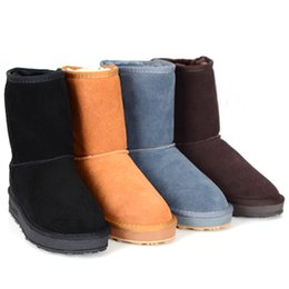 Wholesale Womens Winter Shorts Brown - Hot sales Womens Short Boots classic boots MNS Boots Women's boots Snow boots Brand Designer boots Leather boots glitter2009