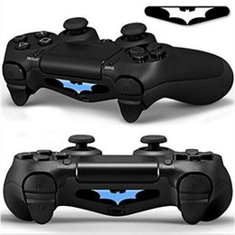 Wholesale Bar Skin - Hot High Qaulity PVC Full Body Decal Skin Custom For Playstation 4 LED Light Bar Decal Sticker for PS4 Dualshock Controller