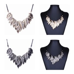 Wholesale Sexy Cool Jewelry - Cool New Women Alloy Chokers Sexy Rhinestone Jewelry Necklace Wedding 2 Colors choose XL6023*1