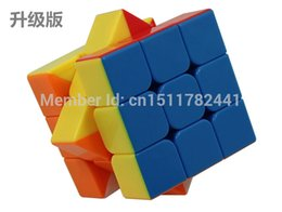 Wholesale Promotion Cube - Wholesale-Promotions New Solid Color Cube Third Order Feel super good Educational Toys Children's favorites