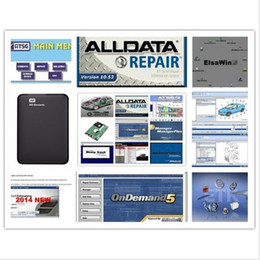 Wholesale Isuzu Truck Repair - 2017 auto repair software all data 1TB HDD 10.53 alldata and mitchell software 2015 heavy truck 49in 1tb hdd