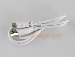 Wholesale Button Gamepad - USB data power charge Charger charging Cable For Nintendo Wii U WIIU Gamepad Controller 1.5m