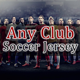 Wholesale Red Short Sweater - Camisetas de futbol 1718 Soccer Jerseys dybala jacket sweater tracksuit 2017 2018 milan maillot de foot shirts neymar football jersey