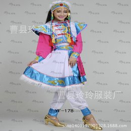 Wholesale Outlet Costumes - Autumn and ethnic clothing company annual meeting of Mongolian folk costumes performance clothing factory outlets